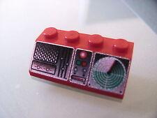 LEGO 3037px7 @@ Slope 45 2 x 4 with Radio/Radar Console Pattern @@ 7046