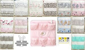 BABY BOY/GIRL COT TIDY - ORGANISER -NURSERY COT BED SET -