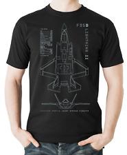 Flyingraphics aviation themed T Shirt 'F35B Lightning II'