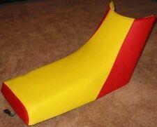 Yamaha Warrior 350 Yellow Red  Seat Cover #hcs570c563