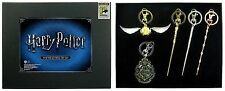SDCC 2017 San Diego Comic Con Monogram Harry Potter Pewter Key Ring 5-Piece Set
