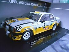 OPEL Ascona B 400 Rallye Clarr BP TdF France 1981 #5 Clarr RAR Sunstar 1:18