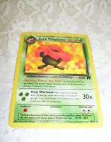 RARE POKEMON TRADING CARD DARK VILEPLUME 2000 30/82