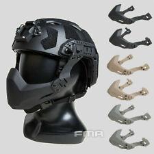 FMA Tactical Universal Rail Folding Arm Half Face Mask for Helmet /Split Goggles