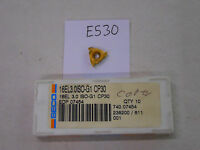 9 NEW SECO 16 EL 3.0ISO-G1 THREADING CARBIDE INSERTS. GRADE CP30.  {E530}
