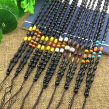 DIY Hand Woven Braided Glass/Glass Beads String Rope Cord For Pendant Necklace 2