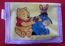 Collectible PVC Kid's Wallet ! Winnie the Pooh and Eeyore