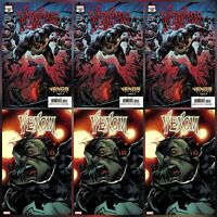 VENOM #28 (2020) CATES ~ MAIN & STEGMAN VARIANT ~ 2 COVERS 6 PACK ~ 9/23