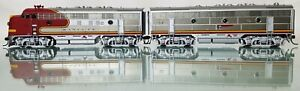 BROADWAY LIMITED BLUELINE 5101 EMD F7 A/D-UNITS AT&SF #38L/#38A WARBONNET SET HO