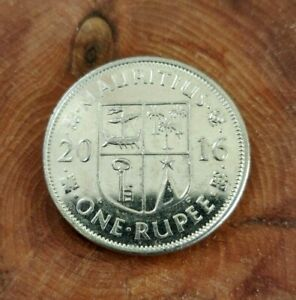 A 2016 Mauritius Collectible African One Rupee Coin