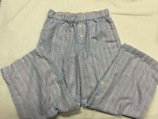 77 Kids by American Eagle, Girls PJ's Pajama Bottoms - Blue Stripe - XS 5/6, EUC