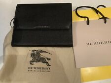 Burberry iPad Cover Portfolio Style, Black New With Dust Bag/Cloth/ Full Pack