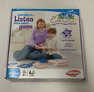 Playskool Noodleboro Learning to Listen Pizza Palace Preschool Game NEW