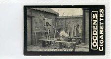 (Ga4390-100) Ogdens Tabs, Chinese Carpenters, China 1901 VG-EX