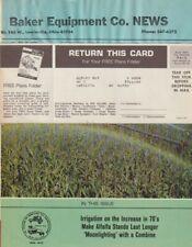 "E709 New Holland Farm Equipment Brochure 1970""s Magazine"