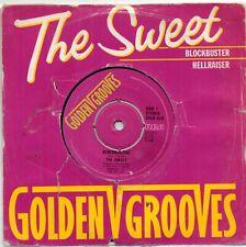 "The Sweet - Blockbuster / Hellraiser  (7"" Single 1981)"