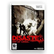 Disaster Day of Crisis Nintendo Wii 16 Action Game