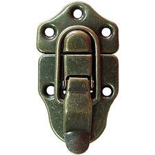 20 Pcs Antique Bronze Iron Wood Case Chest Box Ball Catch Clasp Hasp Latch