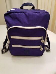 Kipling Backpack Medium Navy Color Pre-Owned