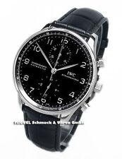 Mechanisch - (automatische) IWC Armbanduhren aus Edelstahl mit Chronograph
