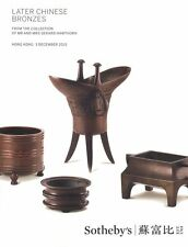 Sotheby's Hong Kong Catalogue Later Chinese Bronzes 2015 HB
