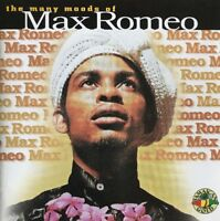 MAX ROMEO THE MANY MOODS OF MAX ROMEO CD FAST FREE FIRST CLASS POST DISPATCH
