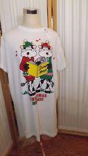 SP 9  Girls/woman One size fits all Sleep Shirt Christmas Mooosic  Silent Night