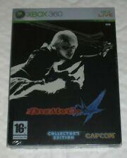 Devil May Cry 4 Limitada Steelbook Edición Xbox 360 PAL Reino Unido Sellado IV Coleccionistas