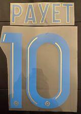 Flocage Payet #10 Marseille. Name Set. Domicile 2020 2021.