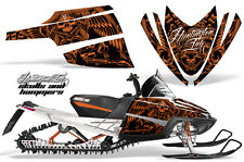 AMR Racing Arctic Cat M Series Snowmobile Graphic Kit Sled Wrap Decals HISH ORNG