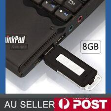 8gb USB Flash Drive Digital Audio Voice Recorder Dictaphone Sound Record