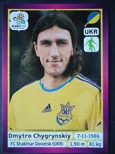 Panini 405 Dmytro Chygrynskiy Ukrajina EURO 2012 Poland - Ukraine