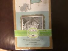 New listing Berber baby announcement cards for personalizing 50 count box of cards
