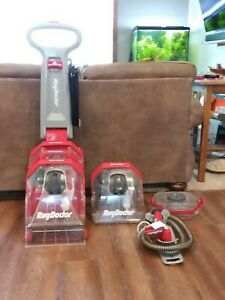 RUG DOCTOR DCC-1 UPRIGHT DEEP CARPET CLEANER W/HOSE & ATTACHMENTS