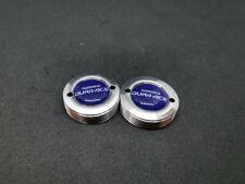 Vintage style Shimano Dura Ace crankset dust cap blue ALUMINIUM