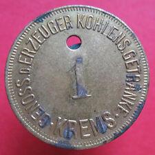 Old rare Austria token- Krems - 1 -Siphon Einsatz 20 h- 17408.1 -mehr am ebay.pl