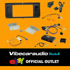 CTKLR01 Land Rover Evoque 2011-2013 Double Din Fascia Antenna Fitting Kit