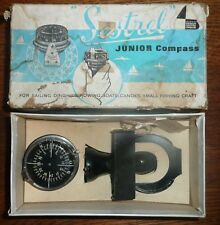 Sestrel Junior Hand Bearing Marine Compass Vintage in Box Dinghy Pack