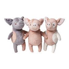Ikea Kelgris 3 Little Pigs Set Kids Soft Stuffed Animal Farm Plush Toy NEW FS