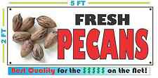 Full Color Fresh Pecans Banner Sign New Xl Larger Size