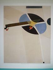 Bilddruck El Lissitzky, Blattgröße 58 x 49 cm