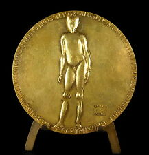 Medaille Exposition universelle Bruxelles 1958 sc Charles Leplae 71 mm medal