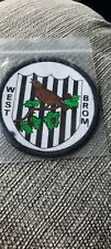 WEST BROMWICH ALBION F C   ORIGINAL VINTAGE  1970s  FOOTBALL SEW ON BADGE
