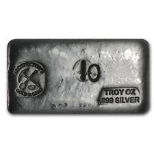10 oz Silver Bar - Prospector's Gold & Gems - SKU #69453