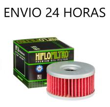 Filtro de aceite Hiflofiltro para Suzuki gz 250 marauder 1999-2010