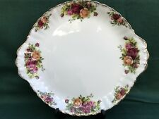 Royal Albert Old Country Roses Cake/Sandwich Plate 1st Quality Ex Cond