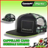 023SPM0033 Gorra Tapa k-Mimetico Tapa KAWASAKI Original Racing de Carreras