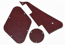 LP Pickguard Control Plate Switch Cavity Covers for Gibson Les Paul Red Pearl