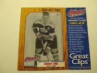 2010-11 Great Clips Oshawa Generals Alumni - Bobby Orr and Eric Lindros cards