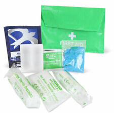 HSE 1 Person First Aid Kit Pouch Compact Medical Emergency Car Lone Work Travel
